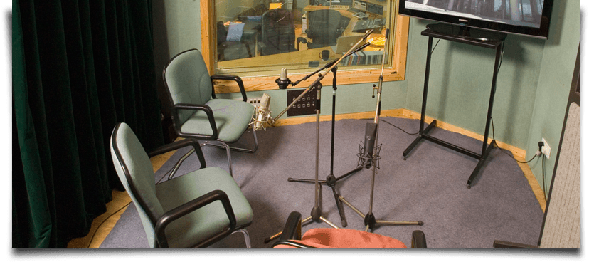 audio commentary studio