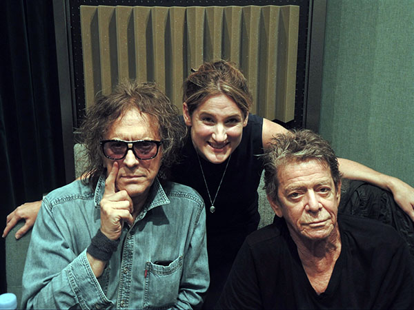 Lou Reed, Mick Rock and Nemone